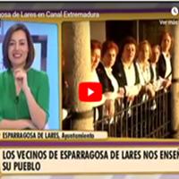 Esparragosa de Lares en canal Extremadura
